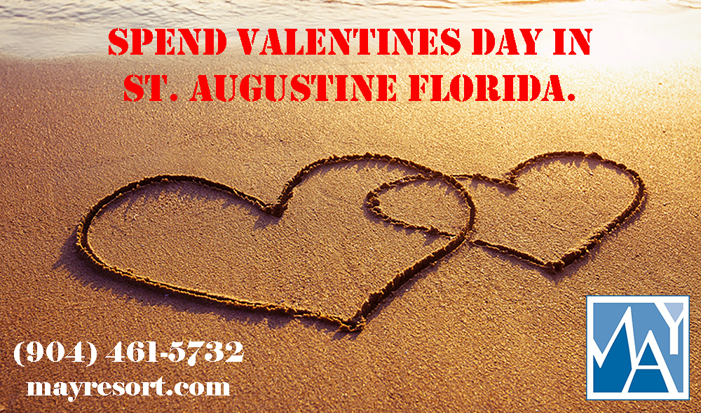 Spend Valentine's Day in St. Augustine Florida